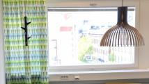 """Tyrens. Fikarum och """"Piano"""" textil av Anneli Linder [Foto Vendela Linder © Kapitän]"""